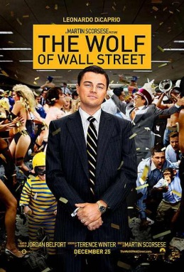 the wolf of wall street movie film poster