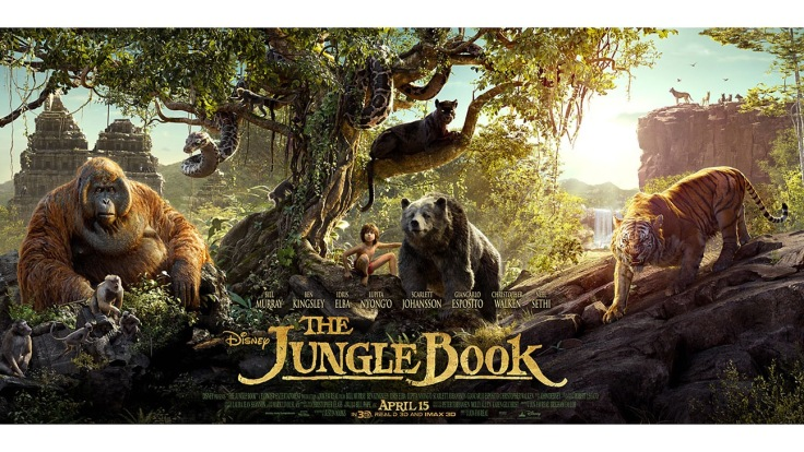 The Jungle Book movie film poster