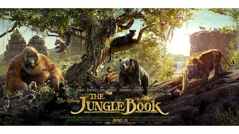 The Jungle Book movie film poster
