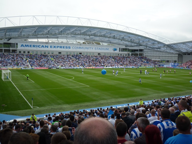 AMEX brighton hove albion football stadium