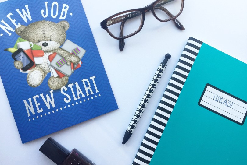 5 things to do before starting a new job - Shut up Meg