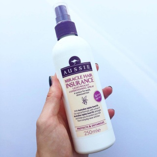 Aussie Miracle Hair Insurance Leave-in Conditioner - Megan Griffin