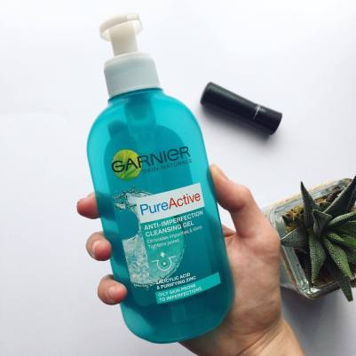 Garnier cleansing gel