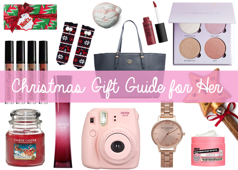 Christmas Gift Guide for her - megangriffin.com
