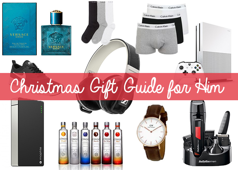 Christmas gift guide for him - megangriffin.com