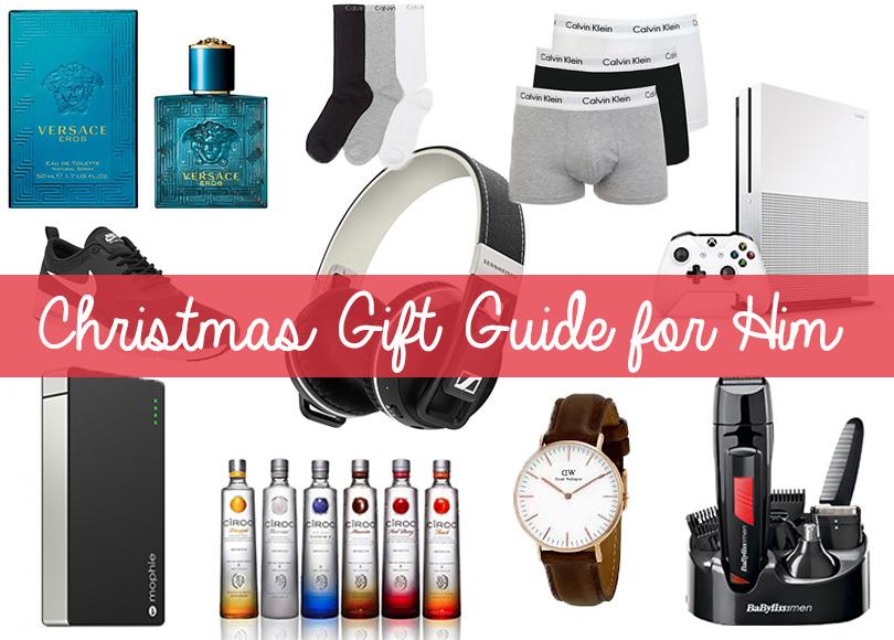 Christmas gift guide for him - megangriffin.com